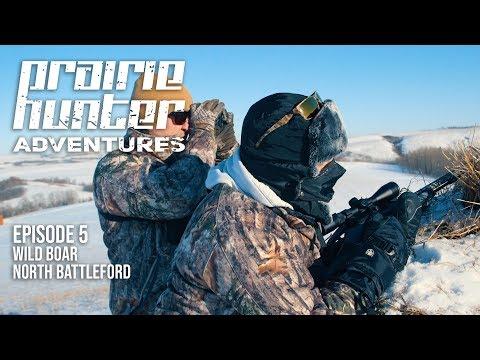 Prairie Hunter Adventures - Episode 5 - Wild Boar At North Battleford