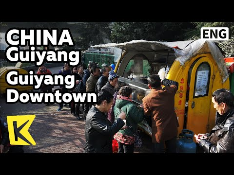 【K】China Travel-Guiyang[중국 여행-구이양]구이양 시내 아침 풍경/Morning/Noodle/Breakfast/Guiyang/Guizhou