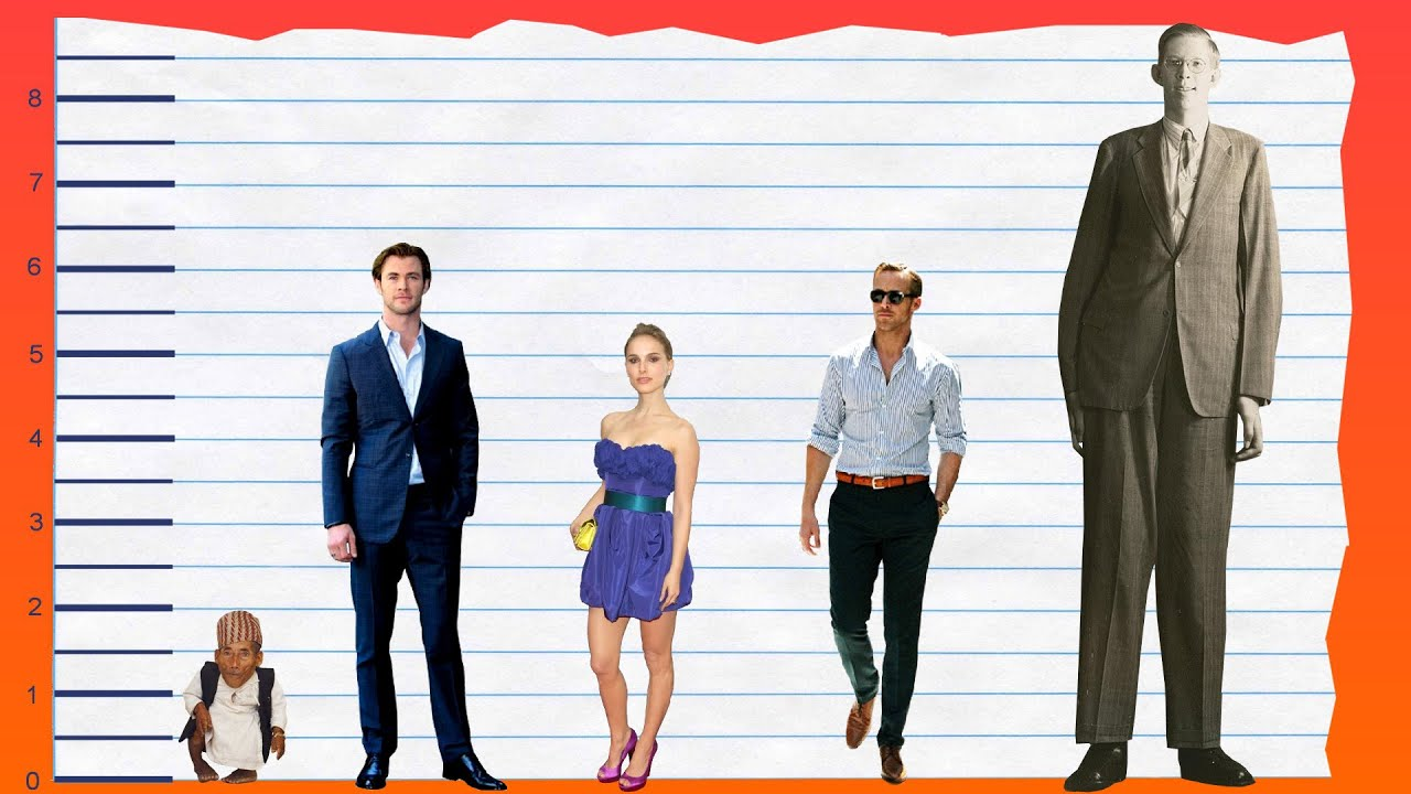 How Tall Is Chris Hemsworth? - Height Comparison! - YouTube