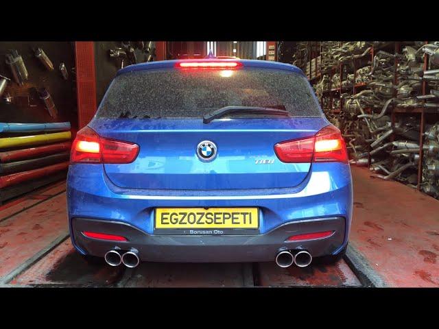 BMW F20 1.18 KUMANDALI VAREX EGZOZ SESİ