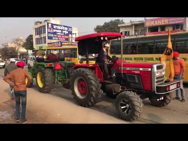 John deere 5310 Vs Massey Ferguson 9500 58 hp Tractor