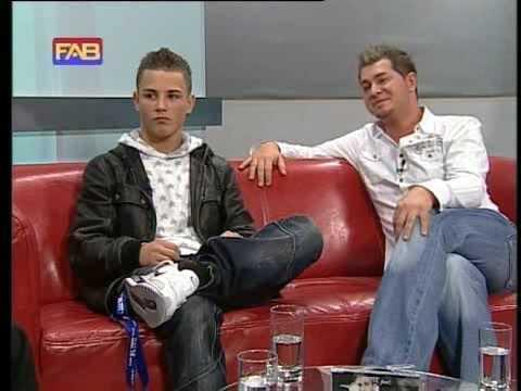Stefek & Sasha Z. im Fernseher auf FAB-TV (Interview)