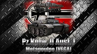 #15 | World of Tanks - Pz.Kpfw. II Ausf. J - 7 medals & 10 kills