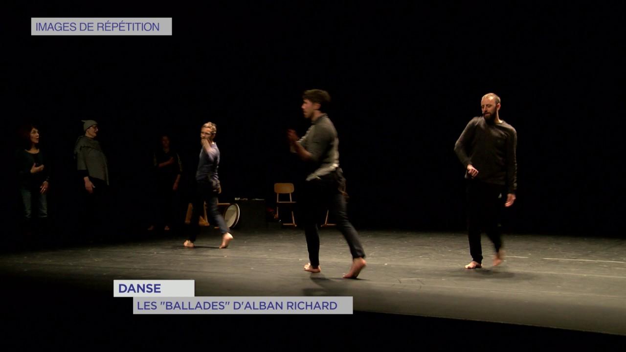 "Danse : les ""Ballades"" d'Alban Richard"