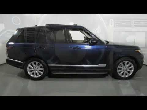 Used 2016 Land Rover Range Rover Raleigh Nc Cary Nc Rp28990 Youtube
