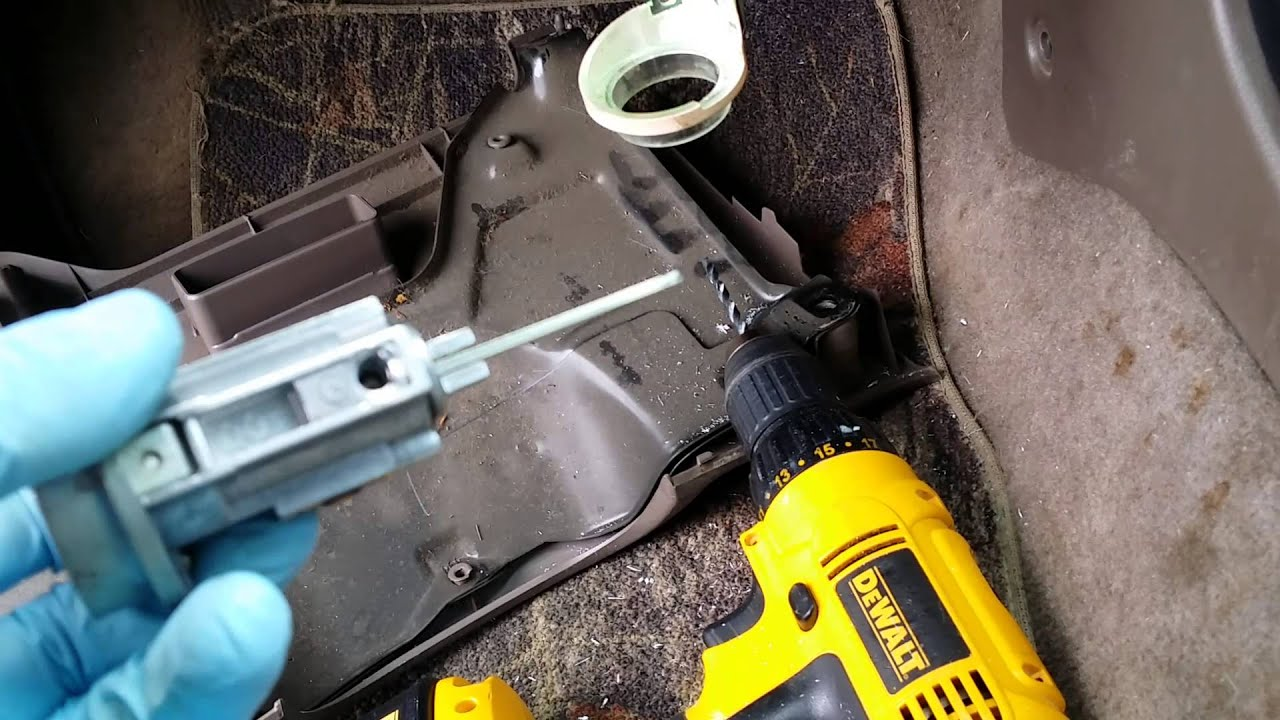 98 4 runner ignition key repair key won t turn [ 1280 x 720 Pixel ]