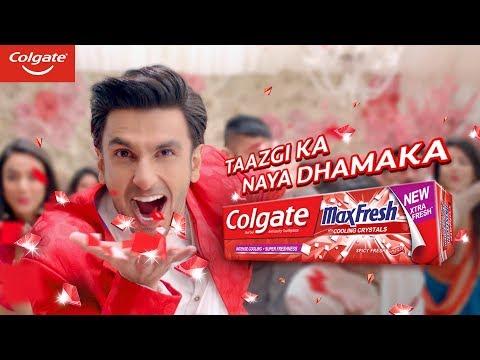 Colgate Maxfresh – Taazgi Ka Naya Dhamaka (Tel)