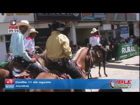 Desfile 11 de agosto Joyabaj 11/08/2017 HD 720p