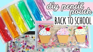 DIY Back To School Supplies | Liquid Pencil Pouches