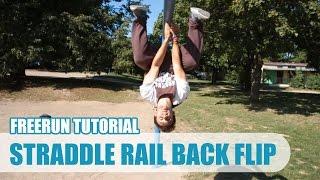 Straddle Rail Back Flip Tutorial CZ   Taras 'Tary' Povoroznyk