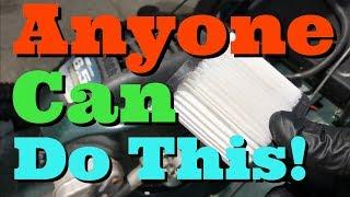 How To Change Air Filter On Craftsman Lawmower | Tecumseh
