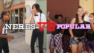NERDS VS POPULAR KIDS DANCE BATTLE!! | Joseph Films