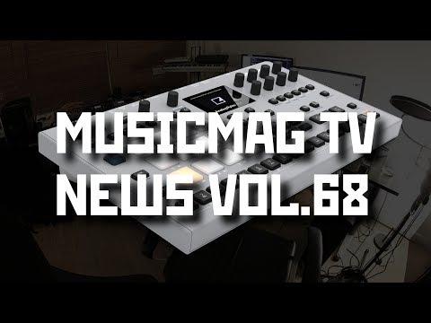 News 68: Analog Four и Rytm MKII, прошивка для DeepMind 12, Synthscraper, Microscale и др...