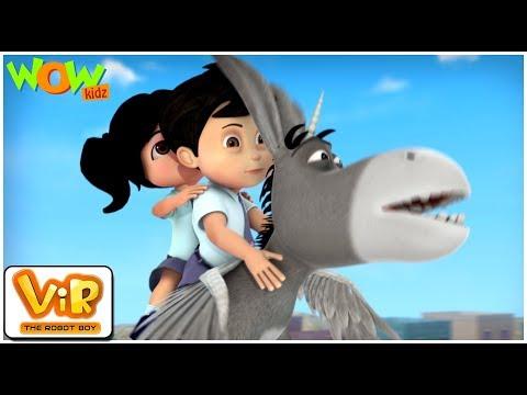 Vir The Robot Boy | Hindi Cartoon shows For Kids | Shaitan liliputs | Animated cartoon| Wow Kidz