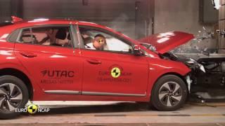 Hyundai Ioniq - Crash Tests 2016   AutoMotoTV