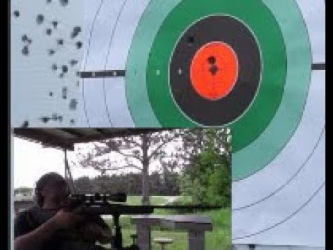 Ruger American Rifle .308 Win. Accuracy and Range Test!