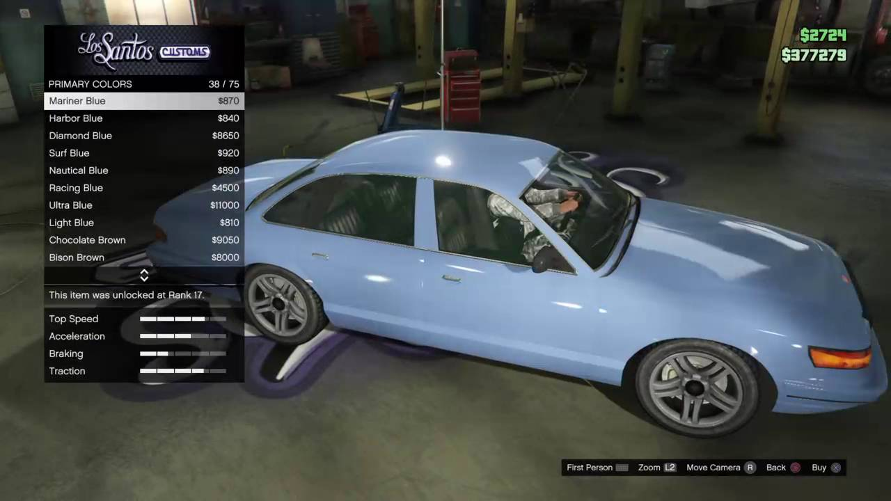 Make Your Own Car >> How To Make Your Own Cop Car On Gta5 Online Youtube
