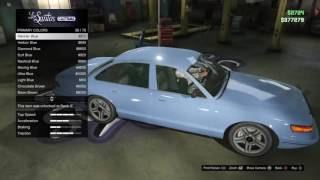 How to make your own cop car on- GTA5 online