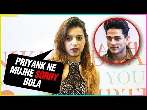 Benafsha Soonawalla TALKS About Priyank And Future Projects