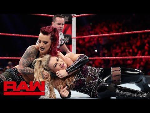 Natalya vs. Ruby Riott: Raw, March 4, 2019