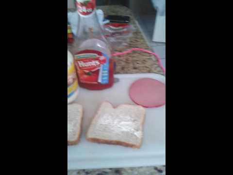 How to make a American sandwich