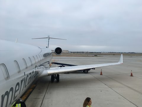 American Eagle (Mesa Airlines) | Long Beach to Phoenix | CRJ 900
