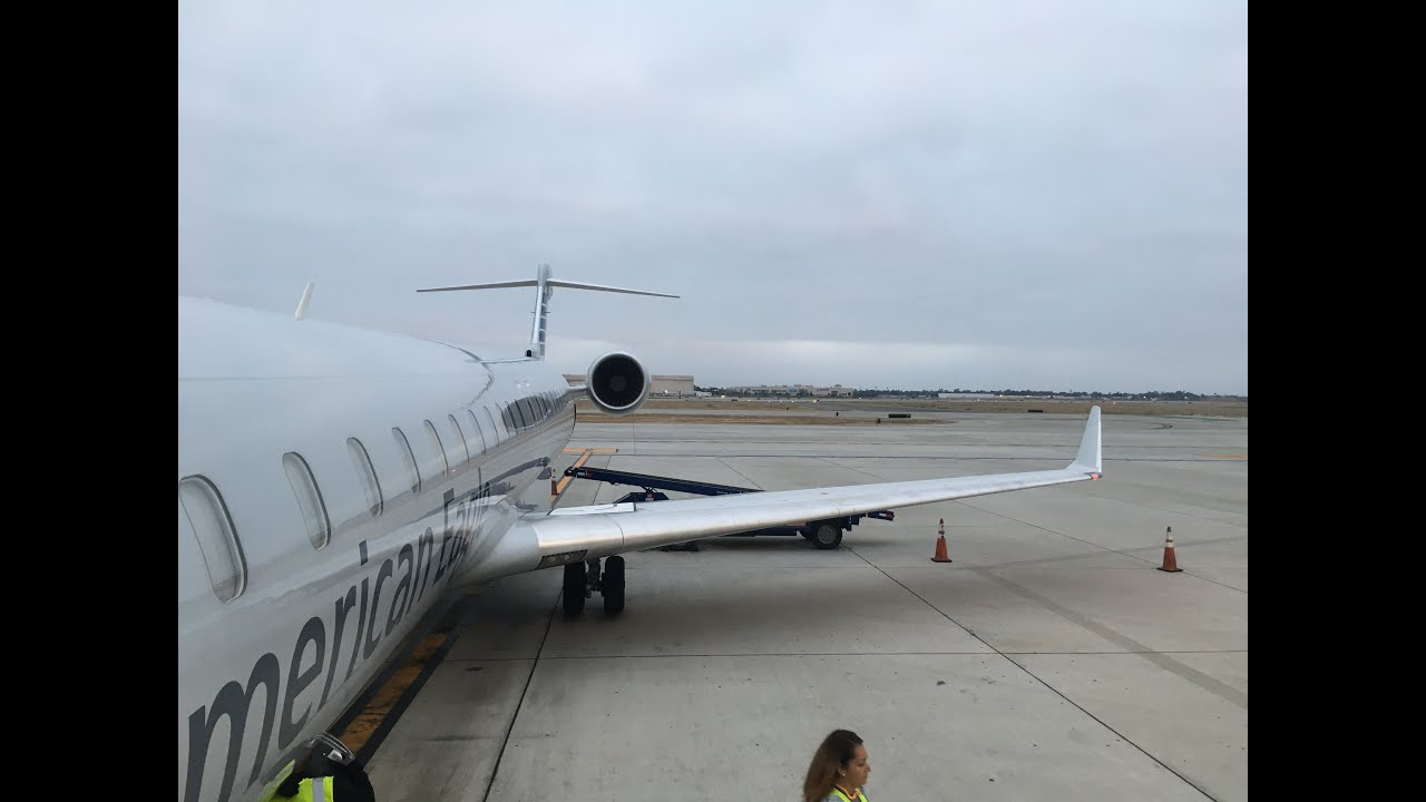 American Eagle Mesa Airlines Long Beach To Phoenix