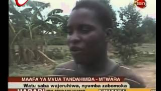 Mvua Yaleta Maafa Makubwa Tandahimba Mtwara