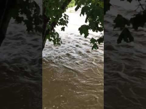 Severe flooding in Cortland County