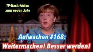 Merkels Neujahransprache, Kölner Silvesternacht &