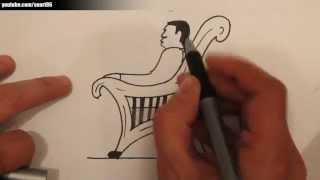 Como dibujar una silla paso a paso