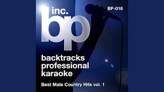 Your Man (Karaoke Instrumental Track) (In the Style of Josh Turner)