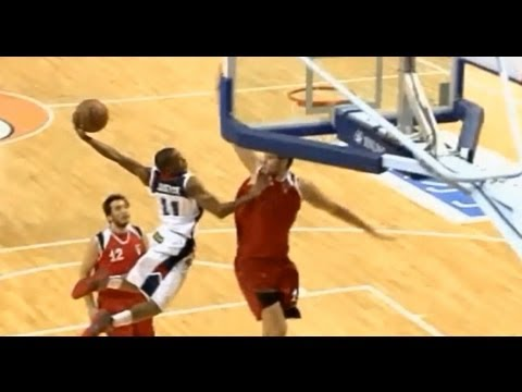 """TFB::Dunks:: 5'9"""" NCAA Dunk Champ James Justice DUNKS ALL OVER 7 FOOTER in Asia!"""