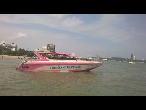 Thailand Tour Speed Boat Ride to Coral Island from Pattaya