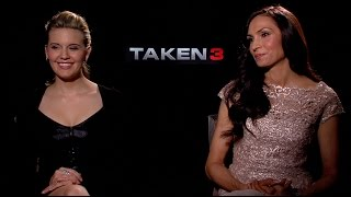 Taken 3, Hemlock Grove: Interview with Famke Janssen and Maggie Grace about Season 3 and More