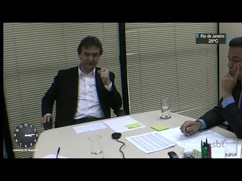 Novo áudio mostra suposto acerto entre Joesley e ministro Marcos Pereira | SBT Brasil (07/10/17)