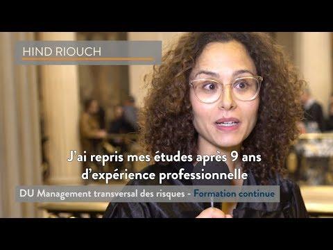 [ITW diplômé] Hind Riouch - DU Management des Risques