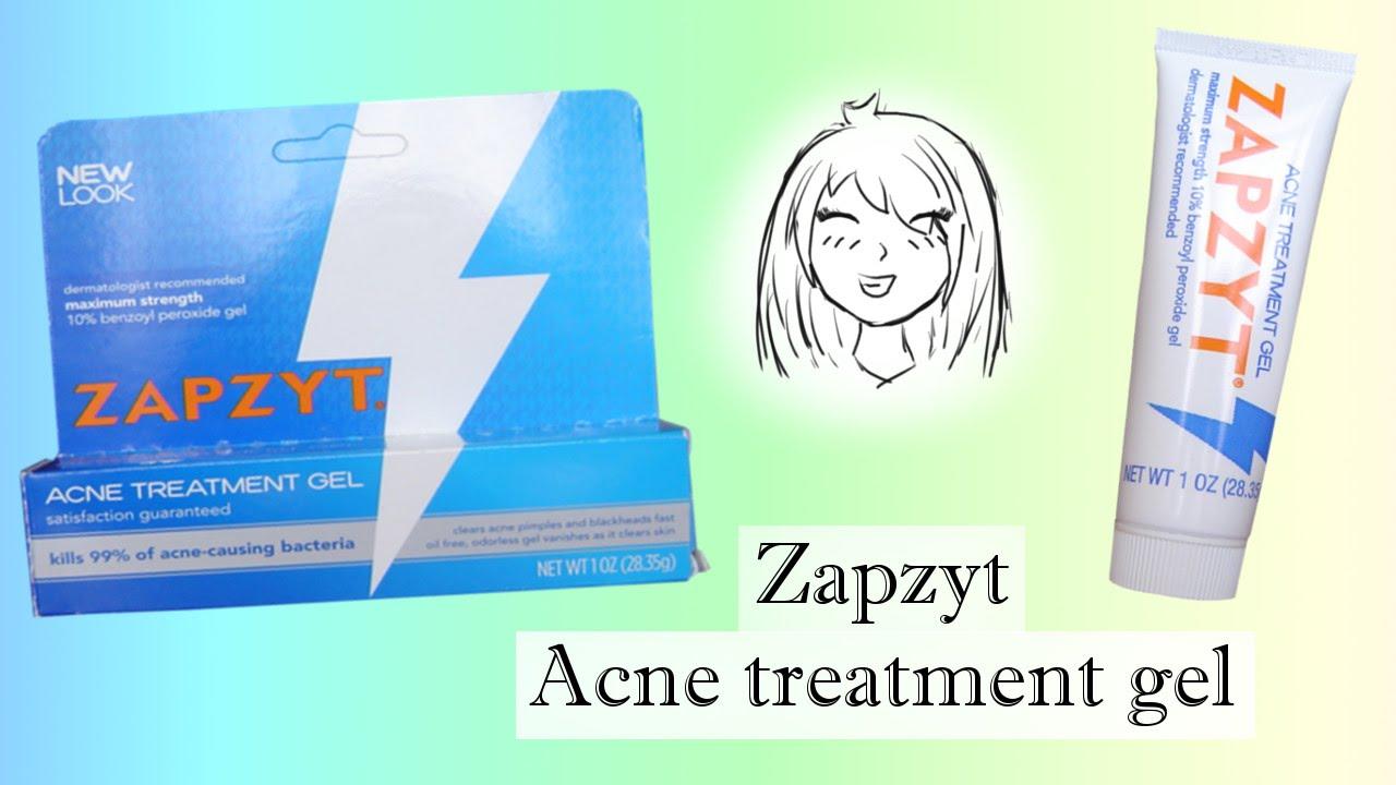 Zapzyt Acne Treatment Gel Review Chibi Chan Youtube