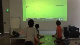 Arcade Table : la manette 4 joueurs de la médiathèque