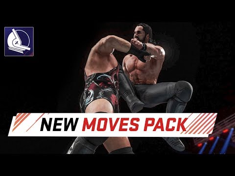 WWE 2K18 New Moves Pack DLC (All New Animations) thumbnail