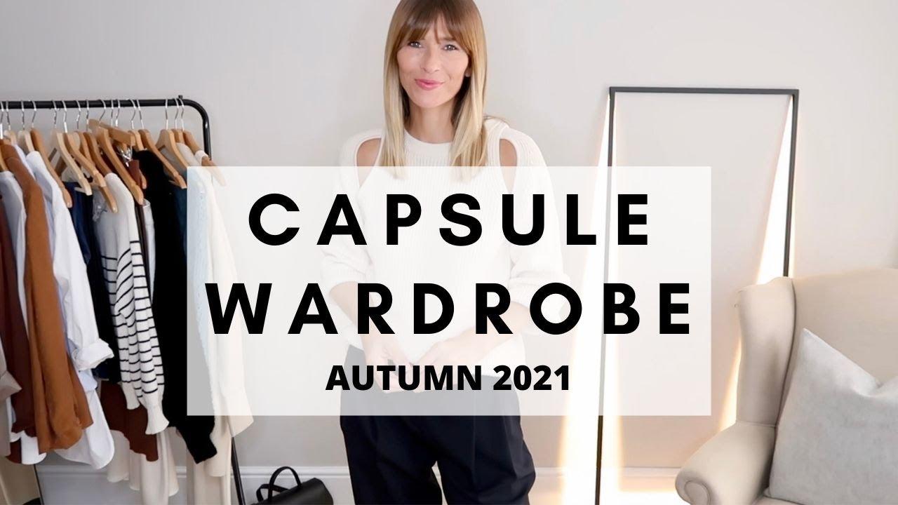 CAPSULE WARDROBE 2021 | KEY ESSENTIALS FOR AUTUMN