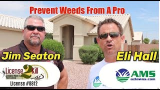 How To Prevent Weeds With A Licensed Pro!