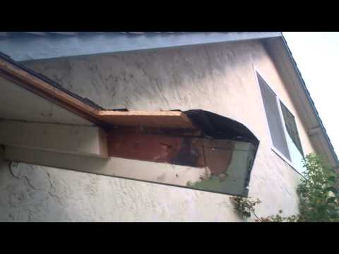 Cutting the Roof Off of my House to make more Clearance - YouTube
