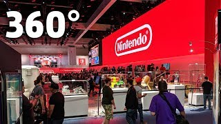E3 2018 - Nintendo's Booth In Glorious 360