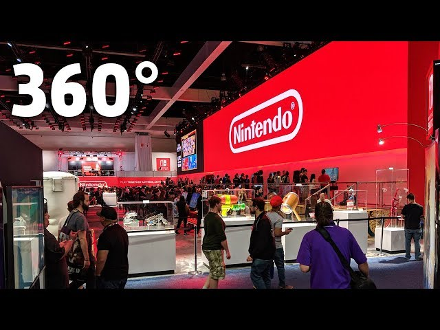 E3 2018 - Nintendo's Booth In Glorious 360