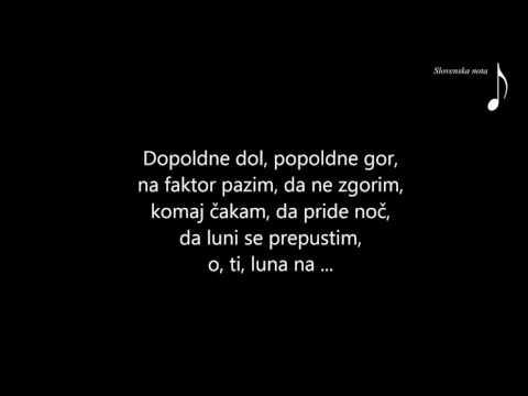 Saša Lendero - Luna (Slovenska nota)