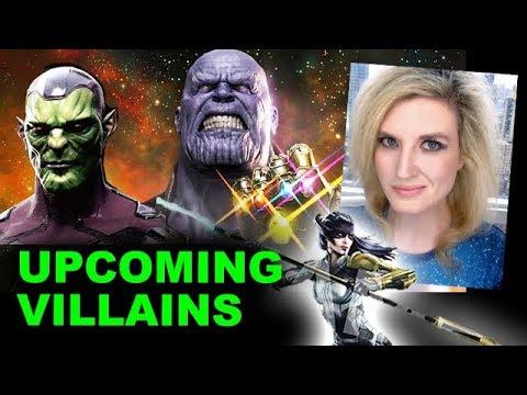 Infinity War & MCU Phase 4 Villains - Thanos, Black Order, Skrulls
