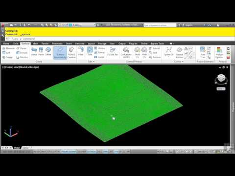 AutoCAD 3D Tutorial | Thickening Surfaces To Solids