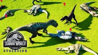 TOP 5 CARNIVORES BATTLE ROYALE!!! (WHO