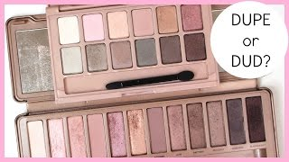 Dupe or Dud: Urban Decay Naked3 vs. Maybelline The Blushed Nudes | Bailey B.